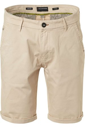 No Excess Short chino stretch garment dyed sand