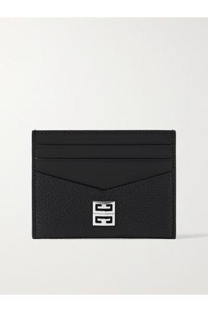 Givenchy Heren Portefeuilles - Logo-Embellished Leather Cardholder