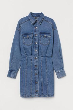 H & M Dames Jeans jurken - Jeansjurk