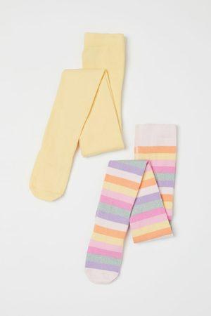 H&M Meisjes Sokken - 2 fijngebreide kousenbroeken