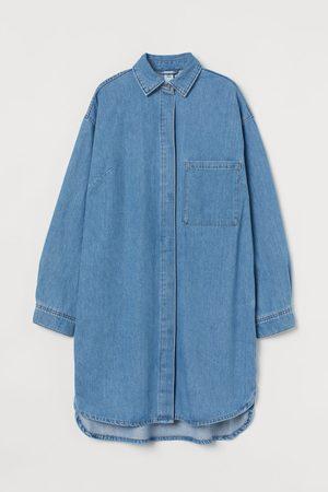 H & M Oversized jeansjurk