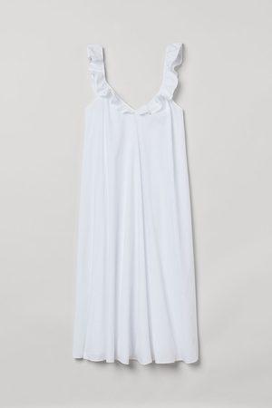 H&M Dames Midi jurken - Jurk met volants