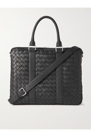 Bottega Veneta Intrecciato Leather Briefcase
