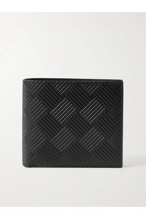 Bottega Veneta Heren Portefeuilles - Intrecciato-Embossed Leather Billfold Wallet