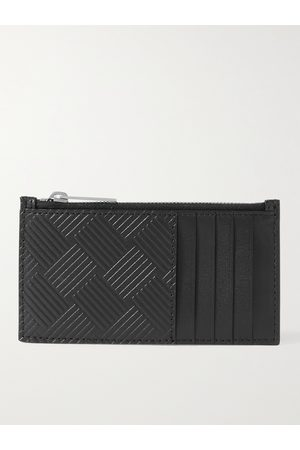 Bottega Veneta Heren Portefeuilles - Intrecciato-Debossed Zipped Cardholder