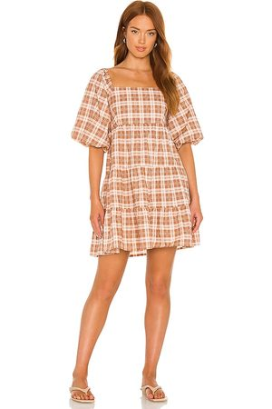 FAITHFULL THE BRAND Eryn Mini Dress in