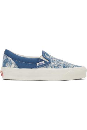 Vans Blue OG Classic Slip-On LX Sneakers