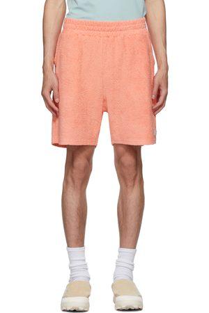 032c Heren Shorts - Pink Terrycloth Topos Shorts