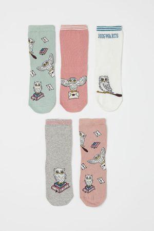 H & M Meisjes Sokken - 5 paar sokken