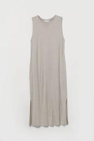 H&M Dames Mouwloze jurken - Mouwloze tricot jurk
