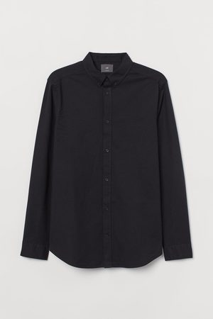 H&M Katoenen hemd - Muscle Fit