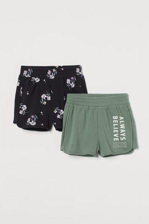 H&M Meisjes Shorts - Set van 2 sweatshorts