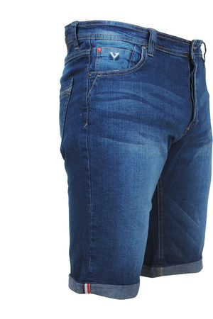 MZ72 Heren jeans short stretch footing stone washed