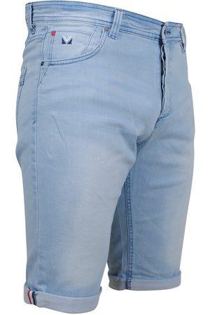 MZ72 Heren Shorts - Heren jeans short stretch footing bleach