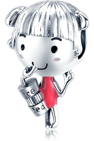 Mijn bedels Meisjes Juwelen - Bedel meisje met ice tea