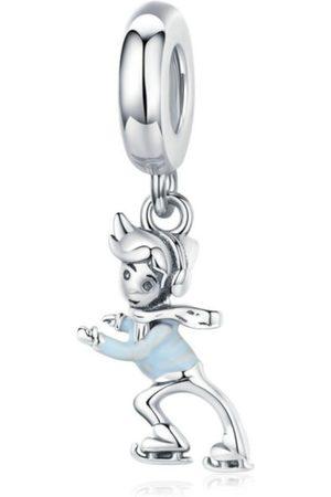 Mijn bedels Jongens Juwelen - Hangende bedel schaatsende jongen