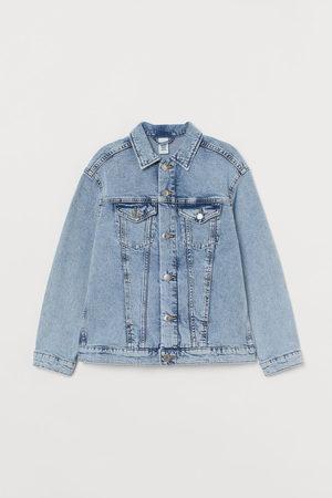 H&M Meisjes Korte jassen - Oversized jeansjas