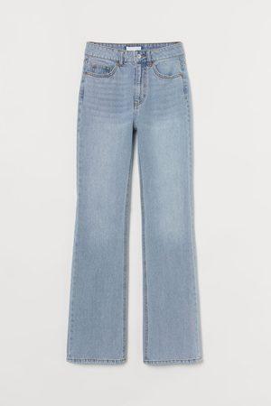 H & M Dames Bootcut - Bootcut High Jeans