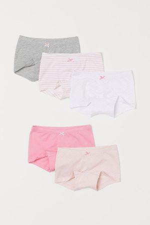 H & M Meisjes Ondergoed - Set van 5 boxershorts