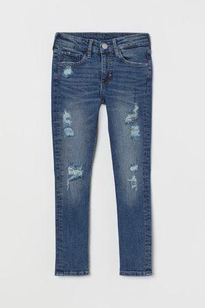 H & M Jongens Skinny - Skinny Fit Trashed Jeans