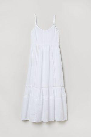 H&M Dames Midi jurken - Luchtige katoenen jurk