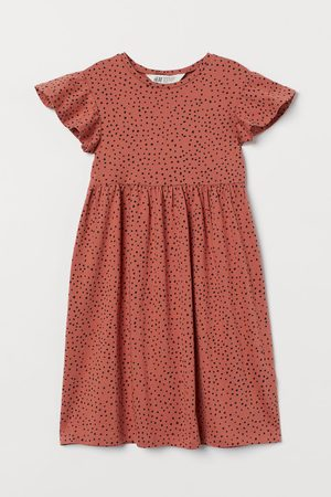 H & M Tricot jurk met dessin