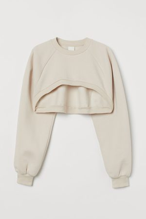 H & M Dames Sweaters - Cropped sweater