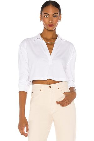 L'Academie LS Cropped Polo in
