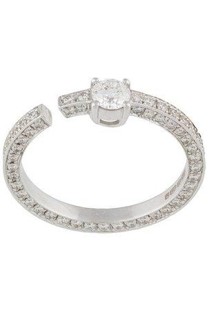 MAISON DAUPHIN 18kt white gold full set diamond ring