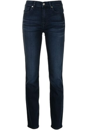 7 for all Mankind High-waisted slim-fit jeans