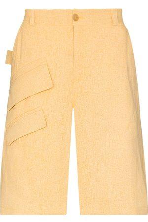 Jacquemus Heren Bermuda's - Colza Bermuda shorts