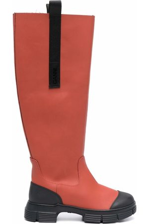 Ganni Country under-the-knee boots