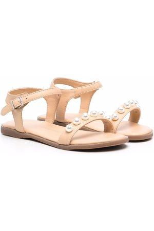 Age of Innocence Fleur faux pearl-embellished sandals