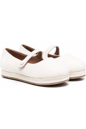 Age of Innocence Hailey platform ballerina shoes