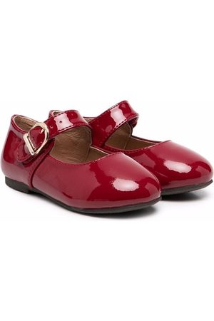 Age of Innocence Juni patent-leather ballerina shoes