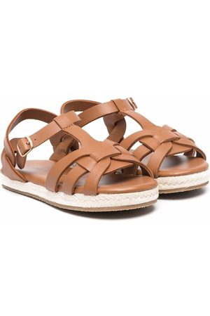 Age of Innocence Patricia cut-out leather sandals