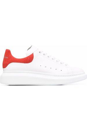 Alexander McQueen Oversize crocodile-embossed detail sneakers