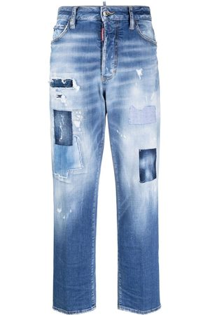 Dsquared2 Boston distressed-effect jeans