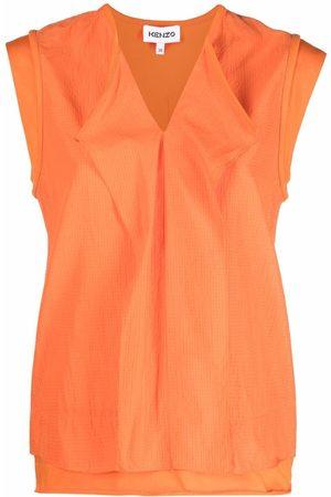 Kenzo Dames Blouses - Drape-panel blouse