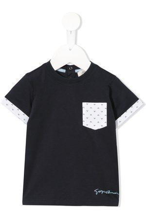 Emporio Armani Short sleeve pocket T-shirt