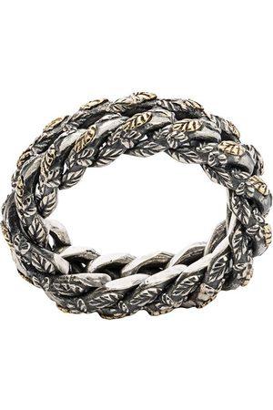 UGO CACCIATORI Rope intertwined ring
