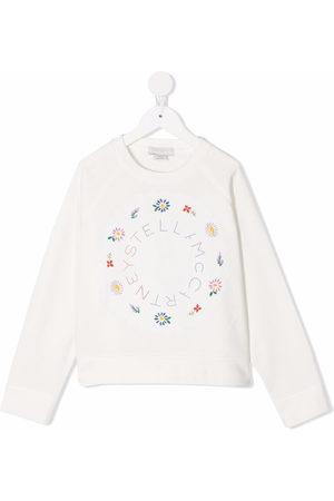Stella McCartney Floral-embroidered sweatshirt