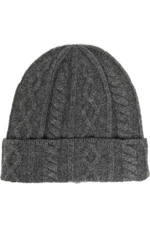 Brunello Cucinelli Heren Mutsen - Cable knit beanie hat