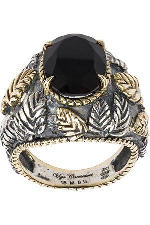 UGO CACCIATORI Leaf ring