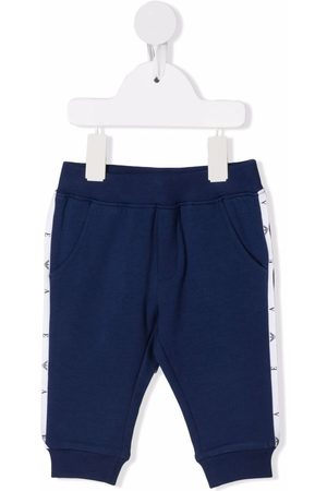 Emporio Armani Baby Joggingbroeken - Side stripe-detail track pants