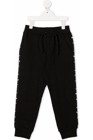 Emporio Armani Side stripe-detail track pants