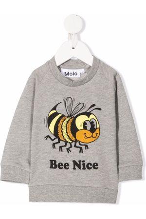 Molo Kids Disco organic cotton sweatshirt