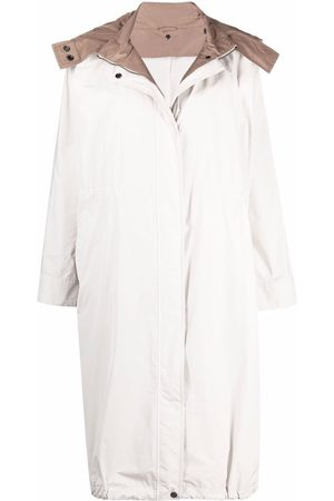 Brunello Cucinelli Lightweight hooded rain coat