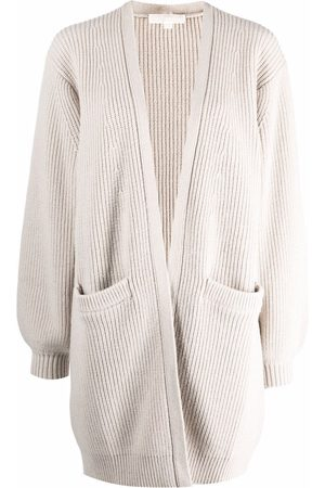 Michael Kors Ribbed knitted cardigan