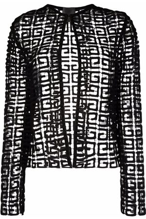 Givenchy 4G guipure cardigan jacket